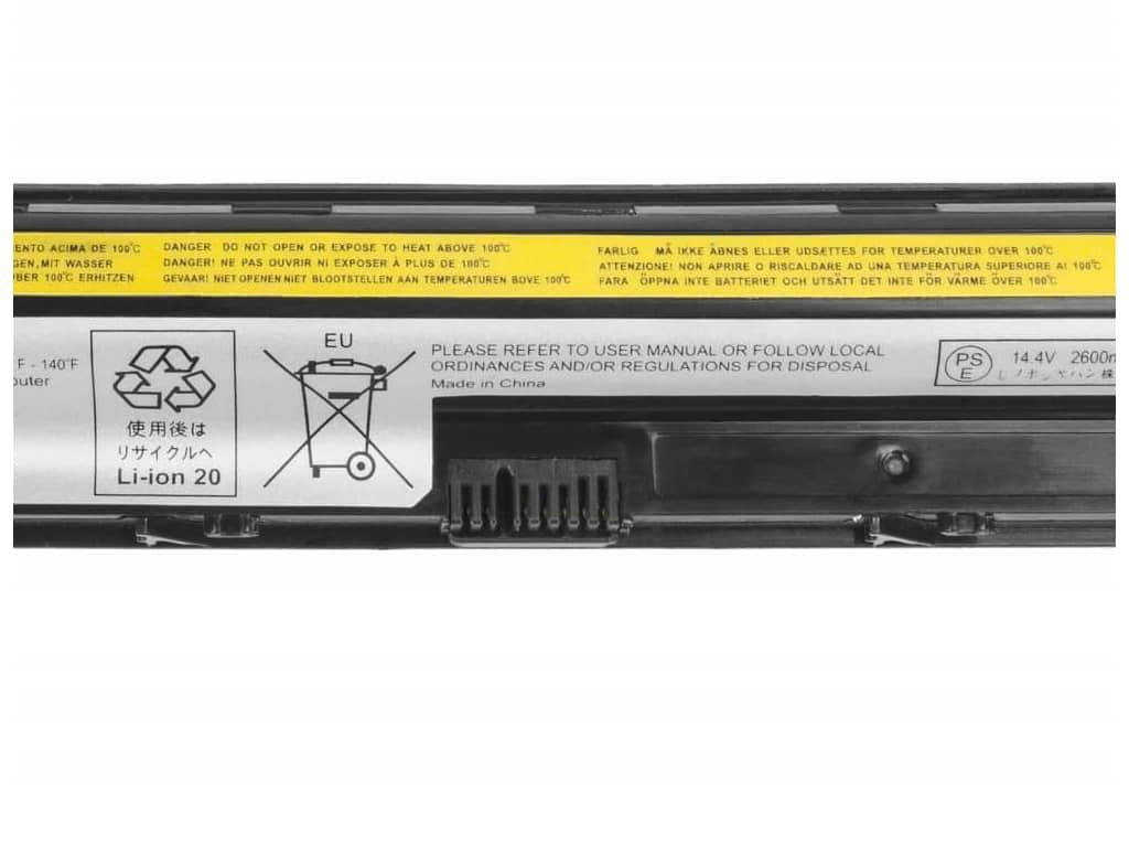 Batéria kompatibilná s Lenovo G40, G50, G400, G50, G500 2600 mAh