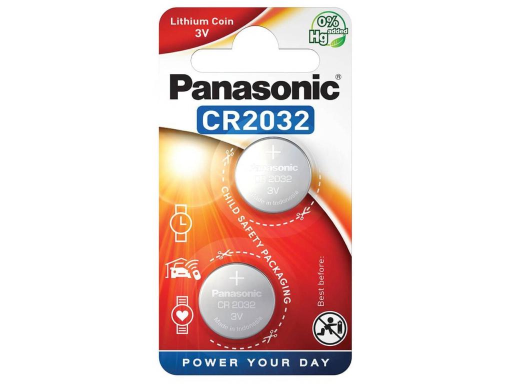 Batéria Panasonic CR2032 2 ks