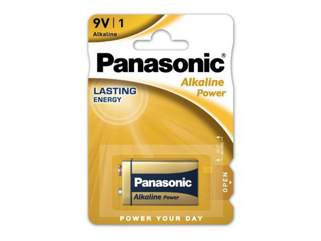 Batéria Panasonic Alkaline Power 9V 6LR61