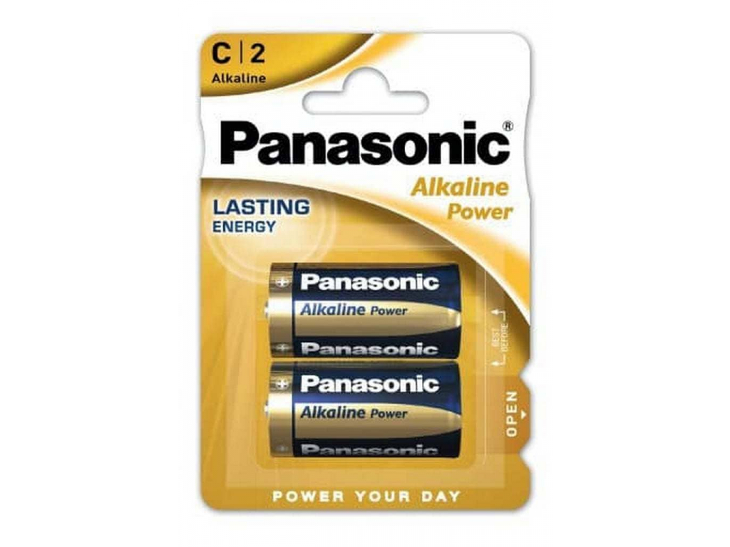 Batéria Panasonic Alkaline Power C LR14 2 ks