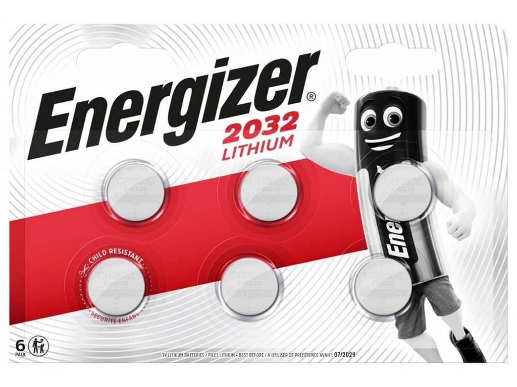 Batéria Energizer CR2032 6 ks balenie