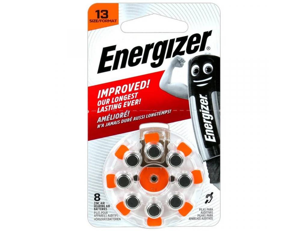 Batérie do načúvacích prístrojov 8 ks Energizer 13 PR48