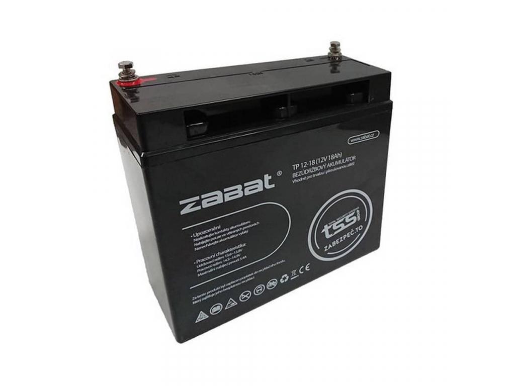 Akumulátor Zabat 12V 18Ah
