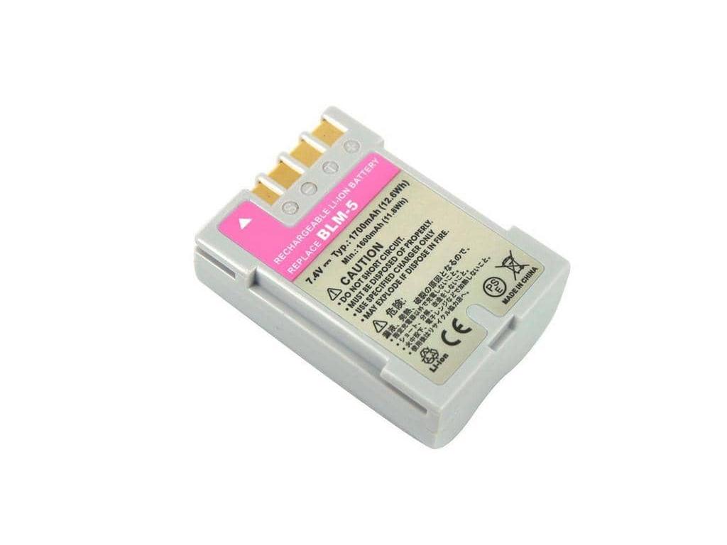 Batéria pre Olympus BLM 5 Li ion 1700 mAh