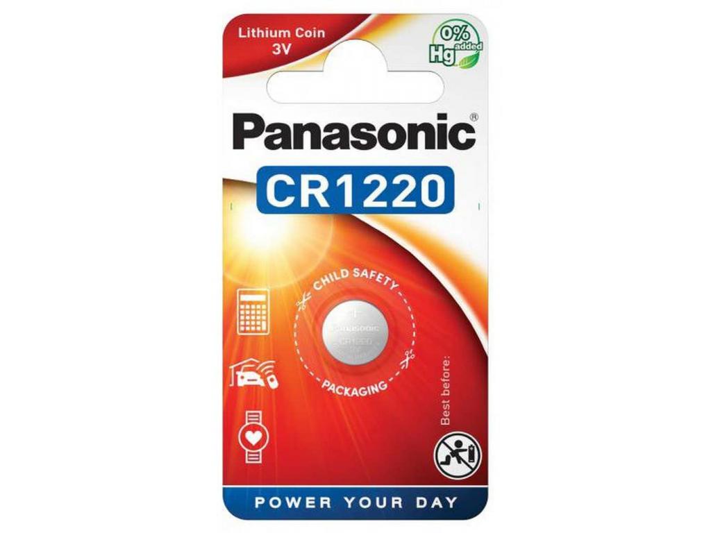 Batéria Panasonic CR1220