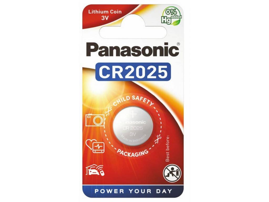 Batéria Panasonic CR2025