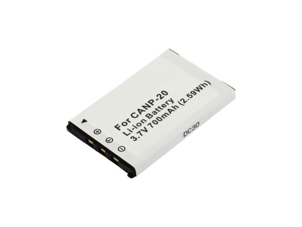 Batéria pre Casio NP-20, Li-ion 700 mAh