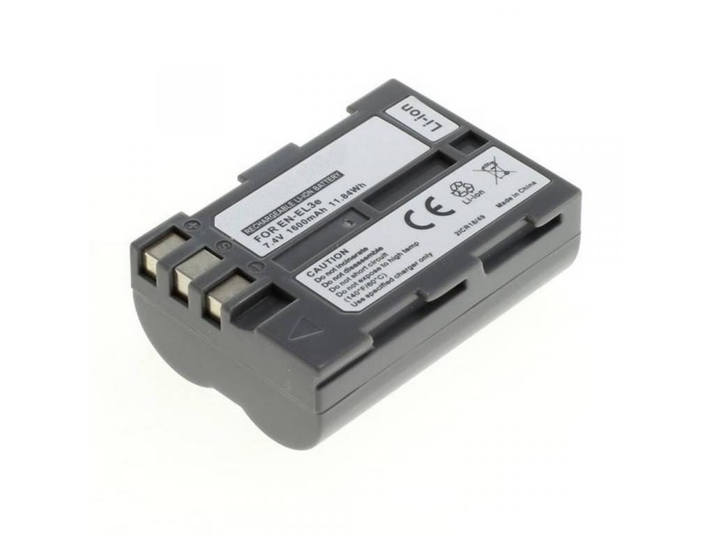 Batéria pre Nikon EN-EL3e, Li-ion 1600 mAh
