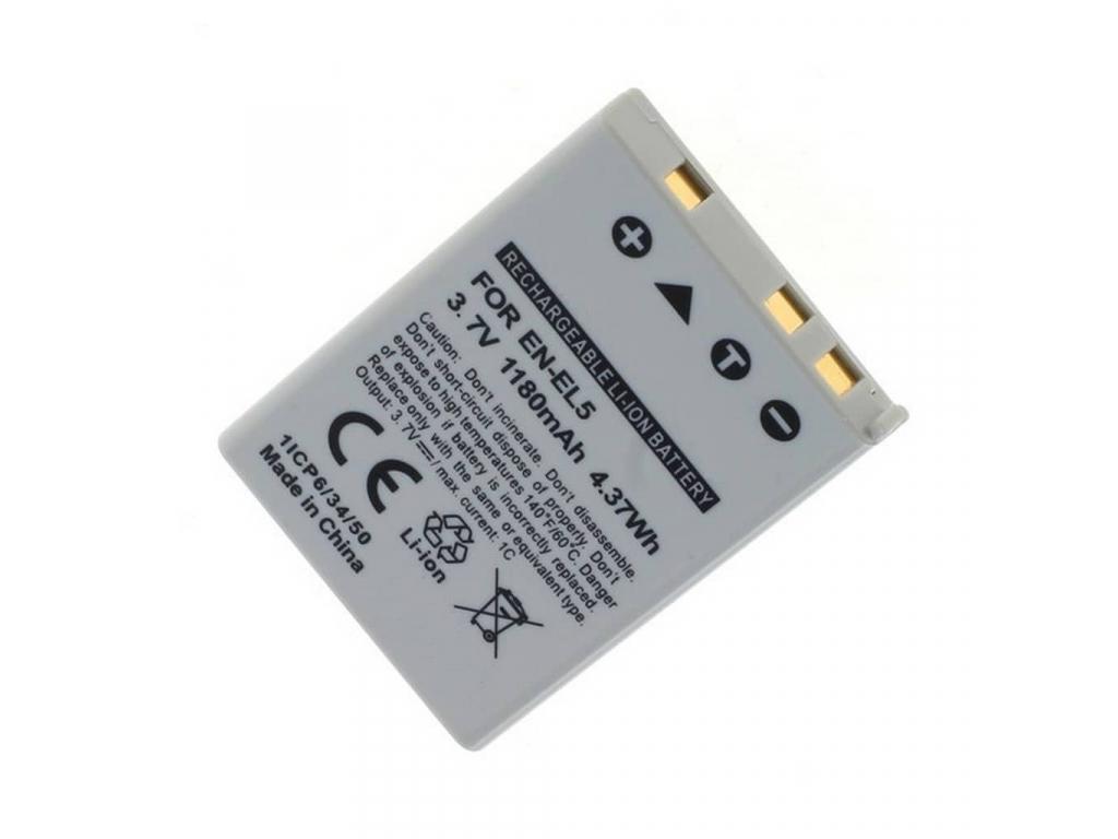 Batéria pre Nikon EN EL5, Li ion 1180 mAh