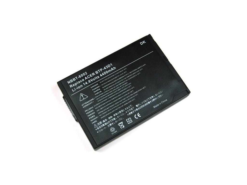 Batéria kompatibilná s Acer Travelmate 220 4400 mAh
