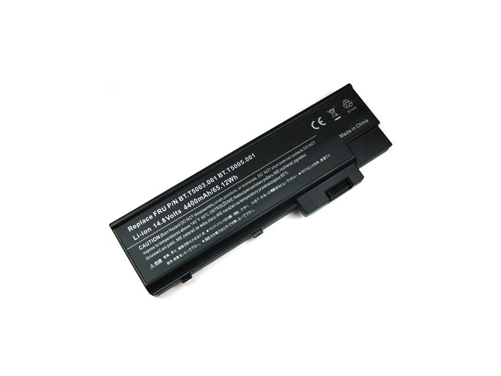 Batéria kompatibilná s Acer Travelmate 2300/Acer Aspire 1680 4400 mAh
