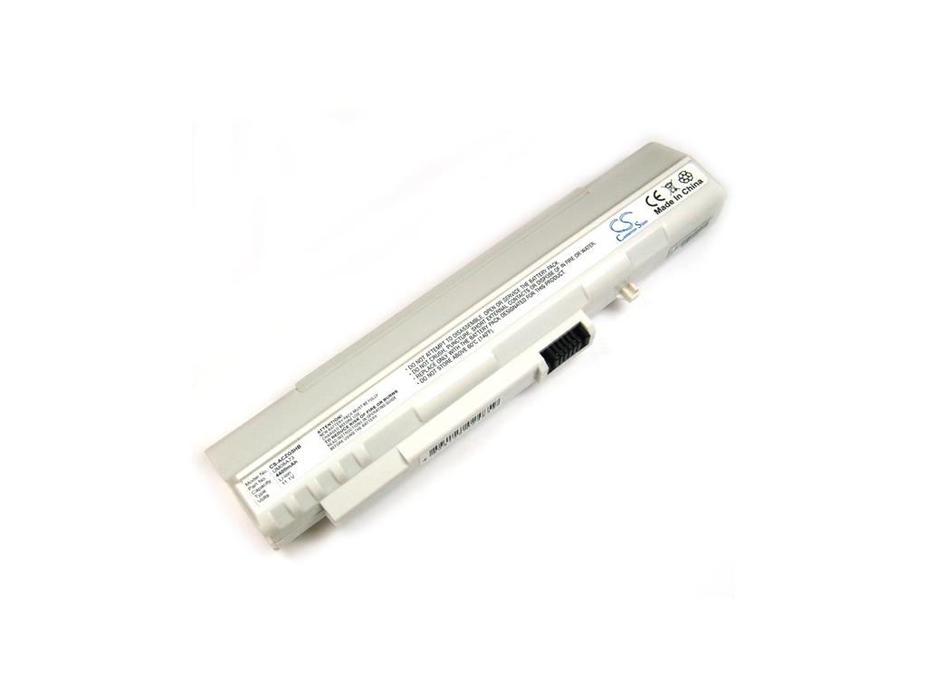 Batéria kompatibilná s Acer ZG5/Aspire One séria 4400 mAh Li-Ion biela