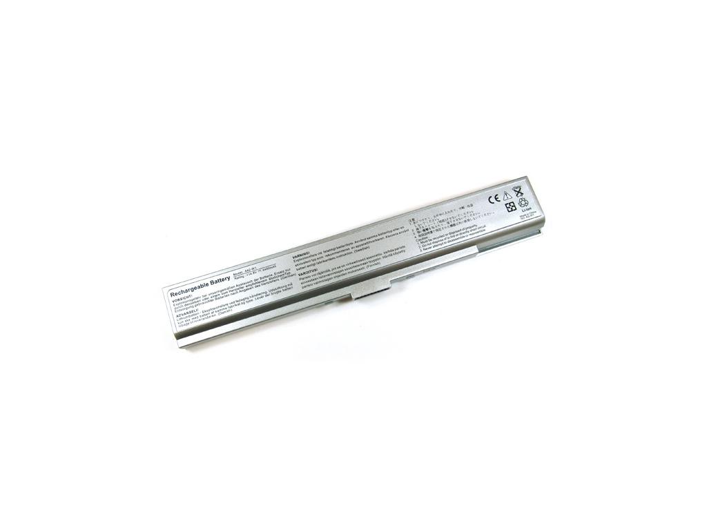 Batéria kompatibilná s Asus A42-W1 Li-Ion 4400 mAh strieborná