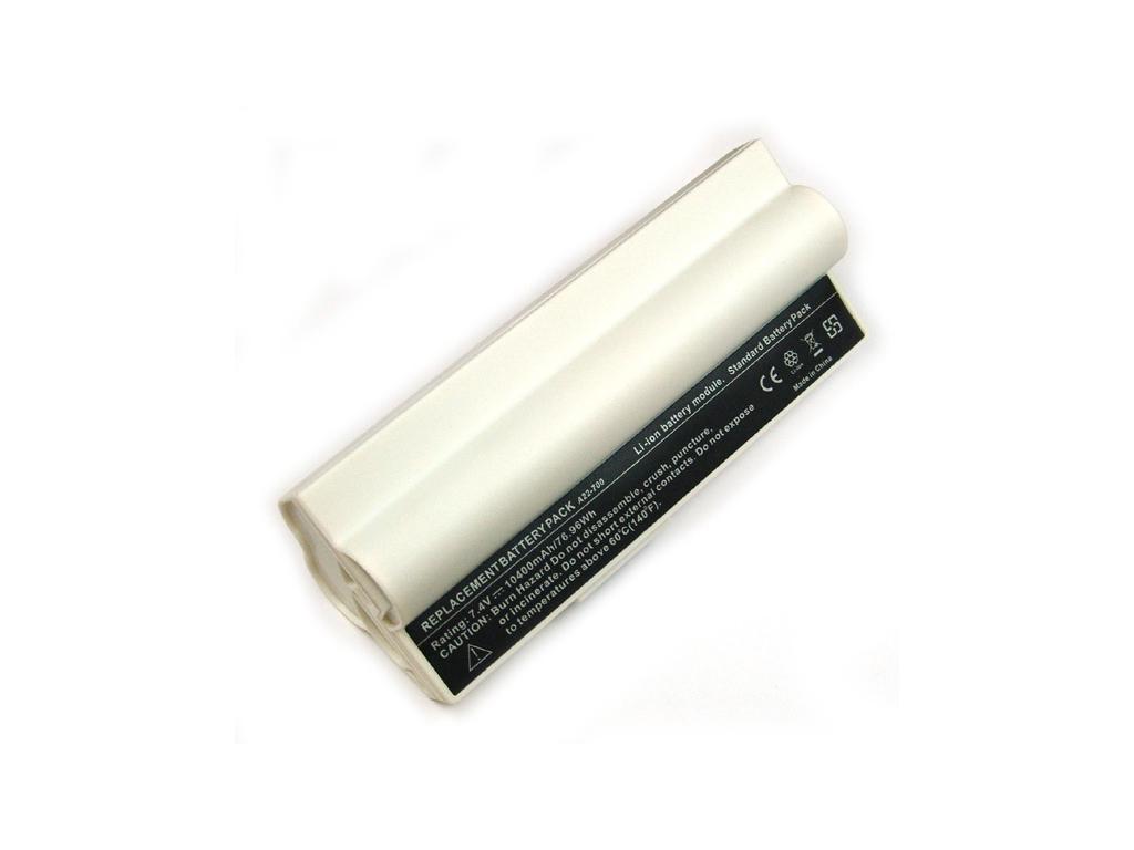 Batéria kompatibilná s Asus Eee PC A701/900 Li-Ion 8800 mAh biela