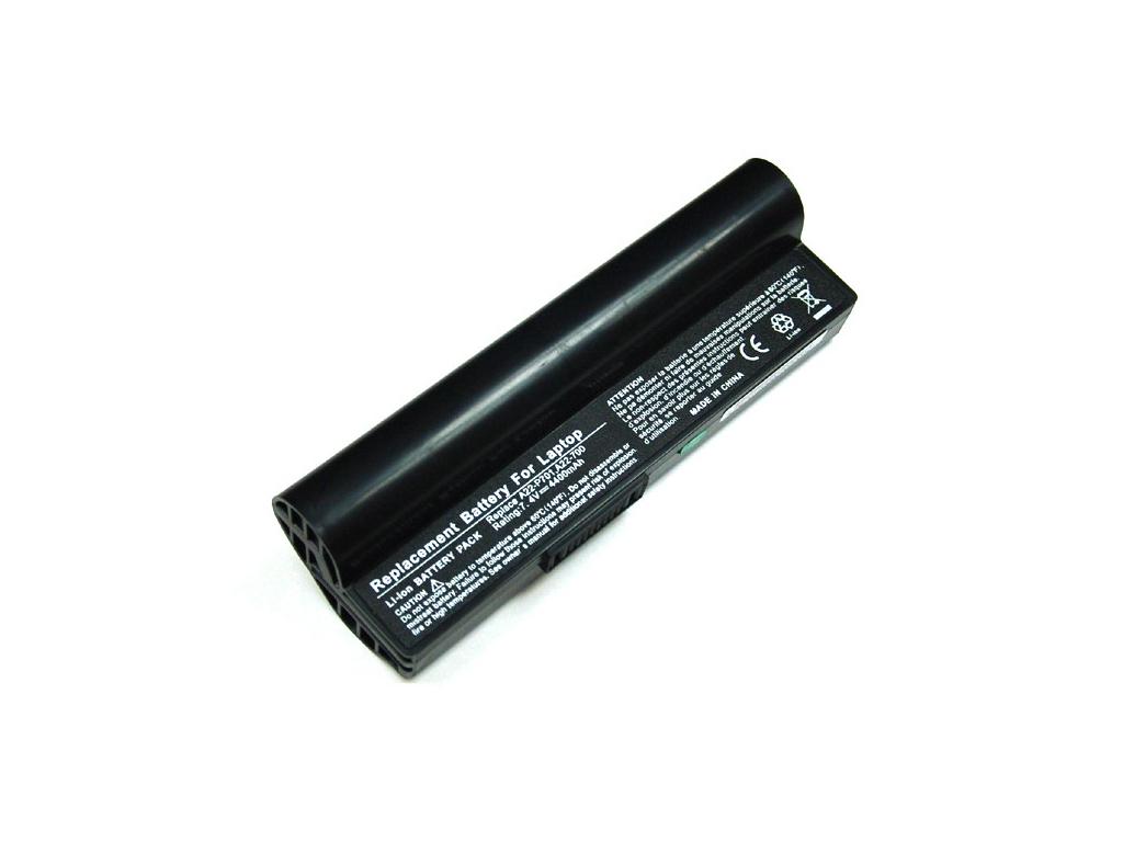 Batéria kompatibilná s Asus Eee PC A701/900 Li-Ion 4400 mAh čierna