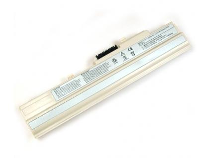 Batéria kompatibilná s MSI Wind U90, U100, U100x, LG X110 Li-Ion 2200 mAh biela