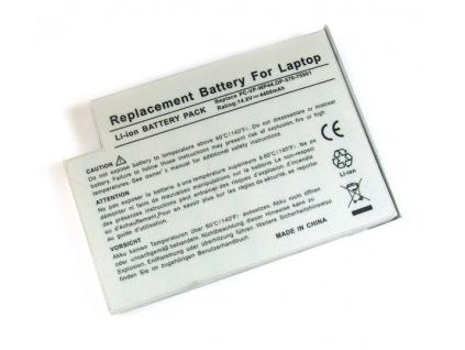 Batéria kompatibilná s Nec Versa E600 Li-Ion 4400 mAh strieborná