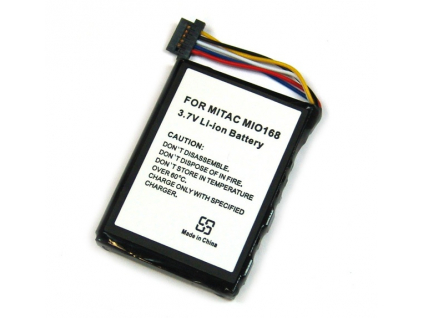 Batéria pre Mitac Mio 168/Yakumo Delta 300/MEDION MD95000 Li-Ion 1300 mAh