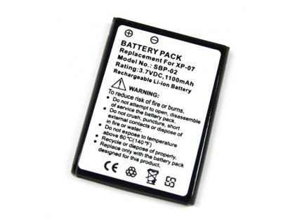Batéria pre XDA graphite Li-Ion 1100 mAh