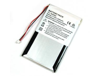 Batéria pre Creative Zen touch Li-Polymer 1500 mAh strieborná