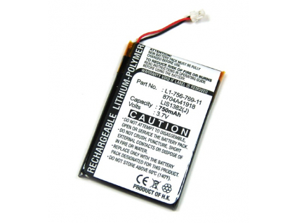 Batéria pre Sony Reader eBook PRS-500/PRS-505/PRS-700 Li-Polymer 750 mAh
