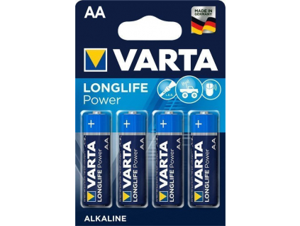 Batéria Varta Longlife Power (High Energy) AA LR6 (4906) blister 4 ks blister