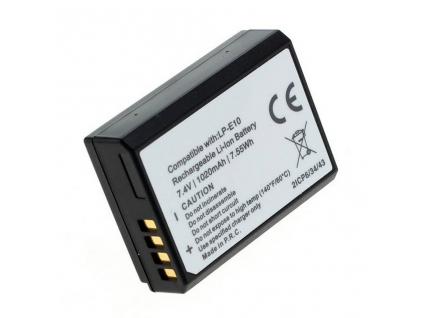 Batéria pre Canon LP E10, Li ion 1020 mAh