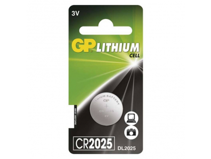 Batéria gombíková GP CR2025 - 3,0 V Lithium