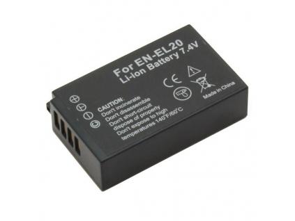 Batéria pre Nikon EN-EL20, EN-EL20a Li-ion 800 mAh