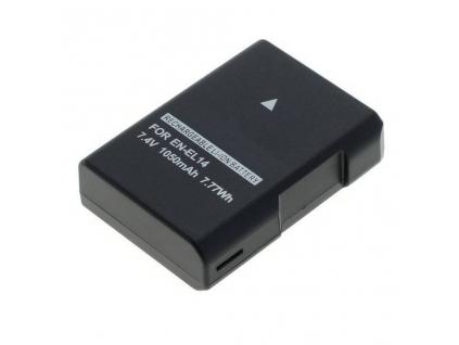 Batéria pre Nikon EN EL14, ENEL14, EN EL14a Li ion 1050 mAh