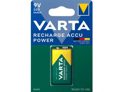 Batéria 9 Voltová nabíjacia Varta 200 mAh NiMH