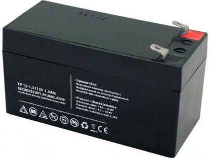 Akumulátor olovený 12V 1,3Ah bezúdržbový