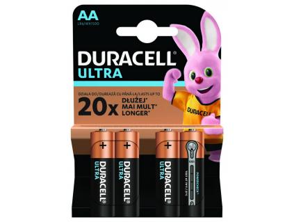 Batérie Duracell TURBO AA 1.5 V LR06 4 ks