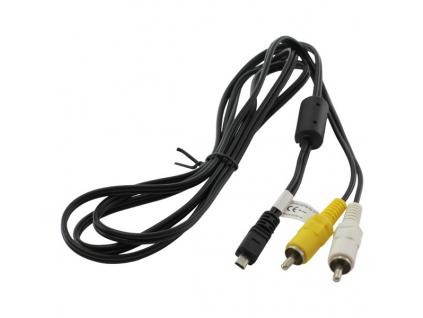 AV Kábel pre fotoaparáty Nikon typ EG-CP14, Olympus CB-AVC5