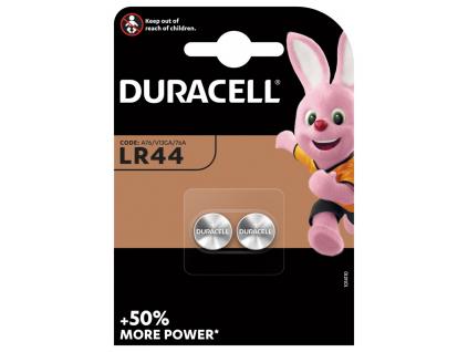 Baterie Duracell LR44 2 ks blister