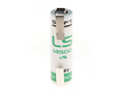 Batéria Saft LS14500 CNR páskové vývody