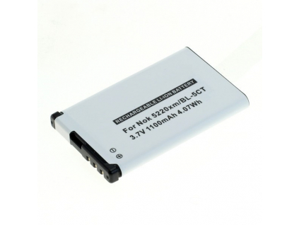 Batéria pre Nokia  6303 classic/6730 classic/5220xm (BL-5CT) Li-Ion 1100 mAh