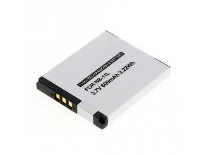 Batéria pre Canon NB 11L, Li ion 600 mAh