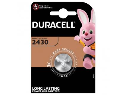 Batéria Duracell CR2430, DL2430, ECR2430