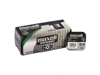 Batéria gombíková mini Maxell 384, 392, SR41SW, SR736SW, G3