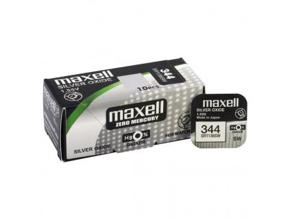 Batéria gombíková mini Maxell 344, SR 42 SW, SR 1136 SW