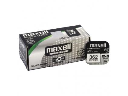 Batéria gombíková mini Maxell 362, 361, SR 721 SW, G11
