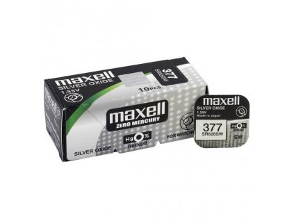 Batéria gombíková mini Maxell 377, 376, SR 626 SW, G4