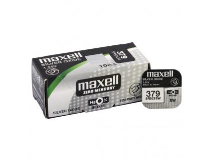 Batéria gombíková mini Maxell 379, SR521SW, G0