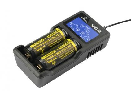 Nabíjačka akumulátorov Li-ion 18650 Xtar VC2