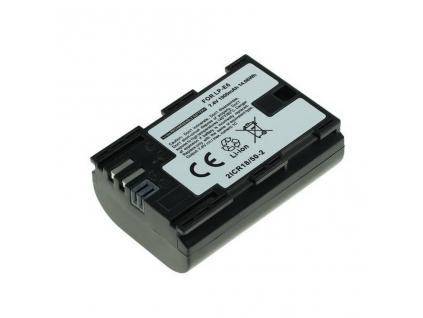 Batéria pre Canon LP E6, LP E6N Li ion 1900 mAh