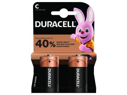 Baterie Duracell LR14 C 2 ks blister