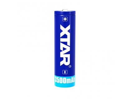 Akumulátor Xtar 18650 Li ion 3,6V 3500 mAh s ochranným obvodom 1