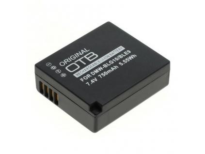Batéria pre Panasonic DMW-BLG10 / DMW-BLE9 Li-ion 750 mAh