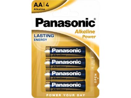 Batérie Panasonic Alkaline Power AA 4 ks blister